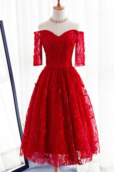 Short Homecoming Dress, Cheap Homecoming Dress, Red Homecoming Dress, Junior School Dress, Graduation Dress, Homecoming Dress, LB0006